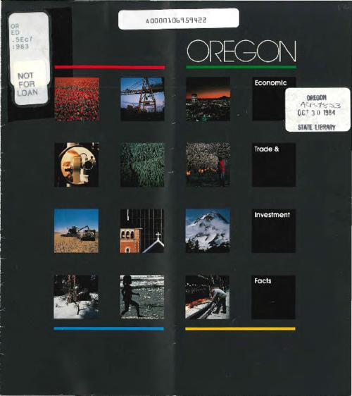 "This archived document is maintained by the Oregon State Library as part of the Oregon Documents Depository Program.  It is for informational purposes and may not be suitable for legal purposes., ""11-83."", Title from front panel, Mode of access: Internet from the Oregon Government Publications Collection."
