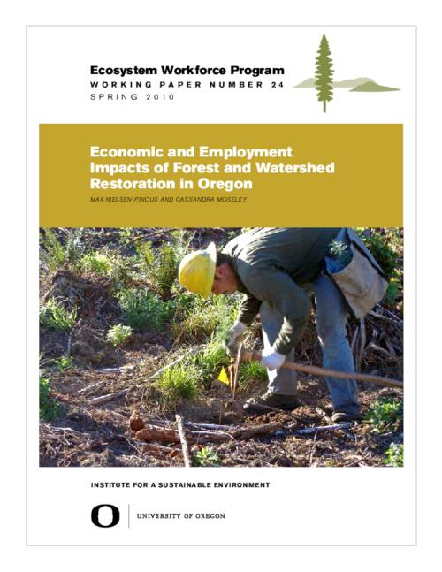 "This archived document is maintained by the Oregon State Library as part of the Oregon Documents Depository Program.  It is for informational purposes and may not be suitable for legal purposes., Title from PDF cover (viewed on Sept. 8, 2011), ""Spring 2010."", Mode of access: Internet from the Oregon Government Publications Collection."