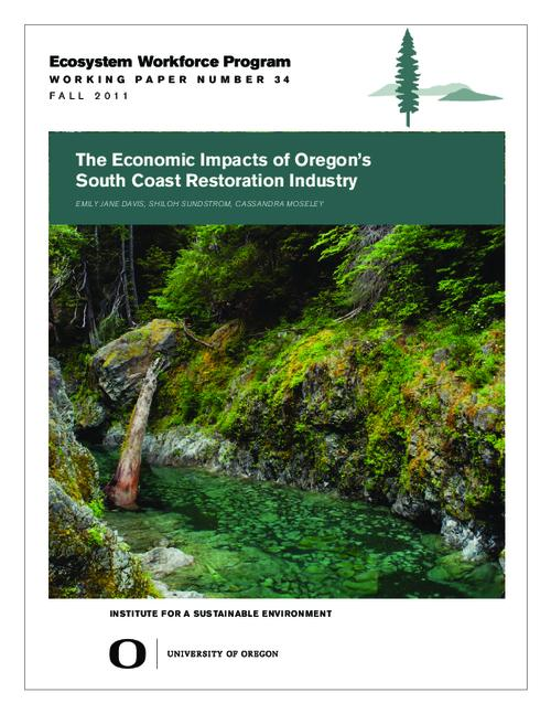 This archived document is maintained by the Oregon State Library as part of the Oregon Documents Depository Program.  It is for informational purposes and may not be suitable for legal purposes., Title from PDF cover (viewed on December 24, 2013), Includes bibliographical references (pages 40-41), This research was made possible with support from The Freshwater Trust and the Wild Rivers Coast Alliance, Mode of access: Internet from the Oregon Government Publications Collection.