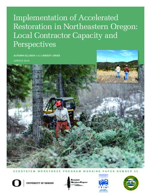This archived document is maintained by the Oregon State Library as part of the Oregon Documents Depository Program.  It is for informational purposes and may not be suitable for legal purposes., Title from PDF cover (viewed on May 2, 2016)., Includes bibliographical references (pages 20-21)., This work was funded, in part, via an agreement with U.S. Forest Service Region 6, agreement #2014-DG-11062765-738, and a contract with the Oregon Department of Forestry, Mode of access: Internet from the Oregon Government Publications Collection., Text in English.