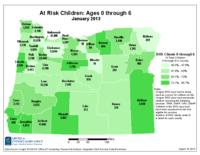 At risk children : ages 0 through 6