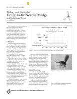 Biology and control of Douglas-fir needle midge in Christmas trees