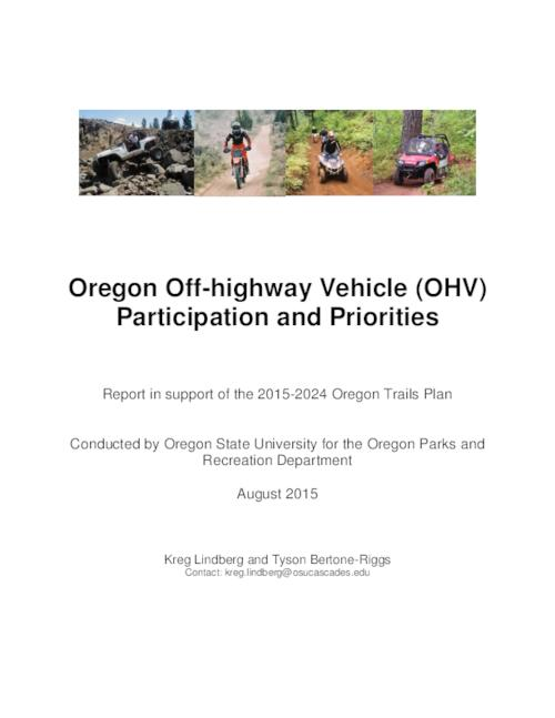 This archived document is maintained by the Oregon State Library as part of the Oregon Documents Depository Program.  It is for informational purposes and may not be suitable for legal purposes., Title from PDF cover (viewed on November 16, 2015)., Includes bibliographical references., Mode of access: Internet from the Oregon Government Publications Collection., Text in English.