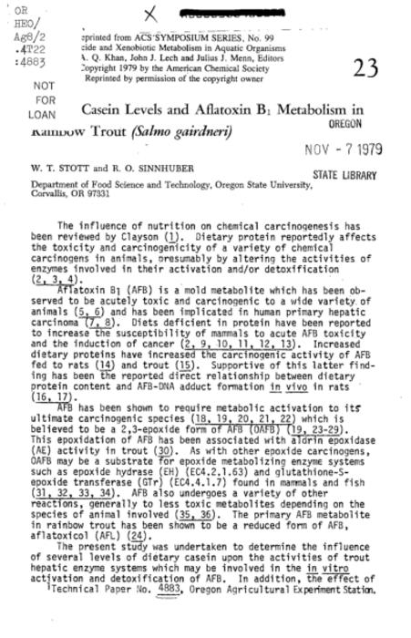 This archived document is maintained by the Oregon State Library as part of the Oregon Documents Depository Program.  It is for informational purposes and may not be suitable for legal purposes., Title from caption, Includes bibliographical references (p. 398-400), Mode of access: Internet from the Oregon Government Publications Collection.