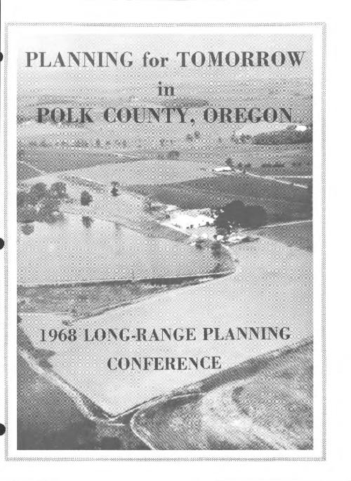 This archived document is maintained by the Oregon State Library as part of the Oregon Documents Depository Program.  It is for informational purposes and may not be suitable for legal purposes., Planning program organized by Polk County Extension Advisory Council and Cooperative Extension Service of Oregon State University., Mode of access: Internet from the Oregon Government Publications Collection.