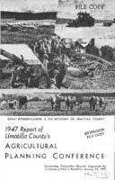 1947 report of Umatilla County's Agricultural Planning Conference: containing...