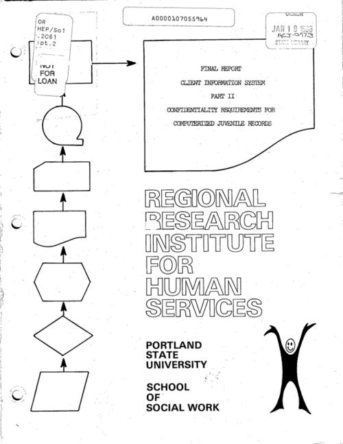 "This archived document is maintained by the Oregon State Library as part of the Oregon Documents Depository Program.  It is for informational purposes and may not be suitable for legal purposes., ""October 1975."", Mode of access: Internet from the Oregon Government Publications Collection."