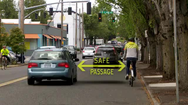 Bicyclists and the safe passing law