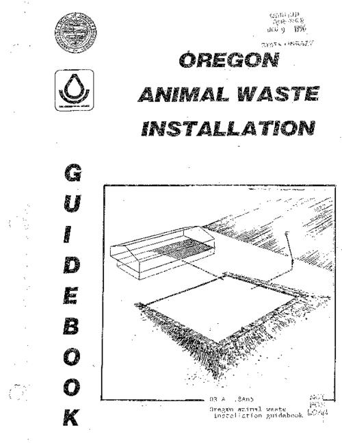 "This archived document is maintained by the Oregon State Library as part of the Oregon Documents Depository Program.  It is for informational purposes and may not be suitable for legal purposes., ""March 1982, revised 1989."", Mode of access: Internet from the Oregon Government Publications Collection."