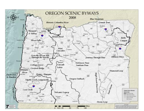 "This archived document is maintained by the Oregon State Library as part of the Oregon Documents Depository Program.  It is for informational purposes and may not be suitable for legal purposes., Relief shown by hill shading, ""Special Project #1825."", ""January 2008."", Mode of access: Internet from the Oregon Government Publications Collection., Text in English."