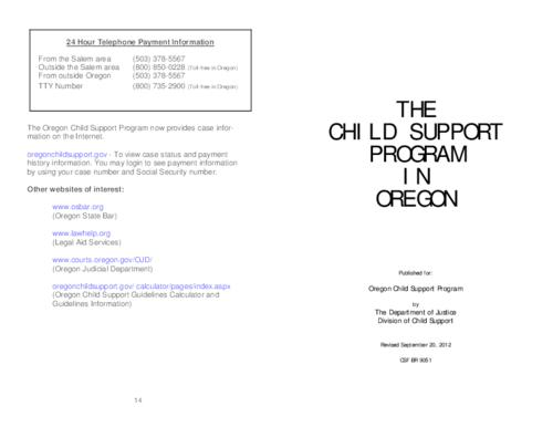 "This archived document is maintained by the Oregon State Library as part of the Oregon Documents Depository Program.  It is for informational purposes and may not be suitable for legal purposes., OrDocs shipping list 2014-16, Title from cover, ""Revised September 20, 2012."", ""CSF BR 9051."", Mode of access: Internet from the Oregon Government Publications Collection., Text in English"