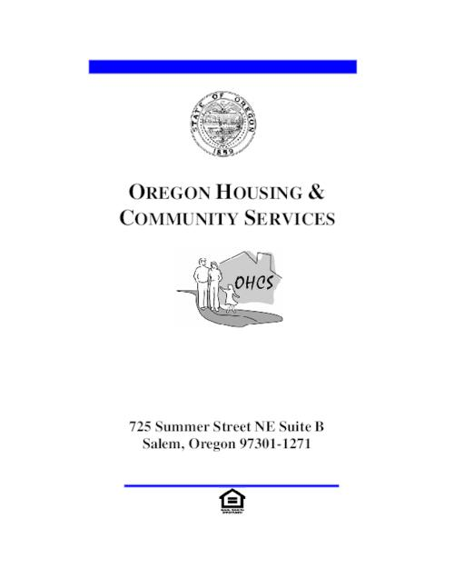 "This archived document is maintained by the Oregon State Library as part of the Oregon Documents Depository Program.  It is for informational purposes and may not be suitable for legal purposes., Title from PDF cover (viewed on Aug. 7, 2006), ""Rev. 07/06""--P. 8.2, Includes index, Mode of access: Internet from the Oregon Government Publications Collection."