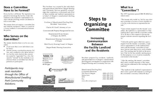 This archived document is maintained by the Oregon State Library as part of the Oregon Documents Depository Program.  It is for informational purposes and may not be suitable for legal purposes., Title from PDF caption (viewed on Oct. 29, 2009), Mode of access: Internet from the Oregon Government Publications Collection., Text in English
