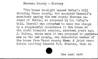 Sherman County. History - Shiny Rock Mining, Inc.