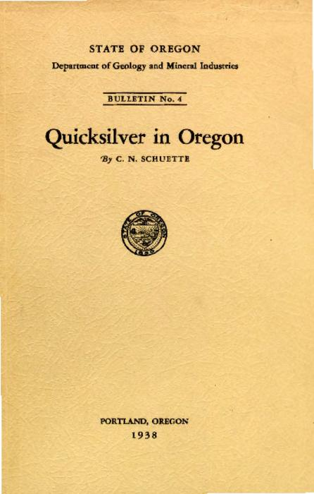 This archived document is maintained by the Oregon State Library as part of the Oregon Documents Depository Program.  It is for informational purposes and may not be suitable for legal purposes., At head of title: State of Oregon. Department of Geology and Mineral Industries., Includes bibliographical references., Mode of access: Internet from the Oregon Government Publications Collection.