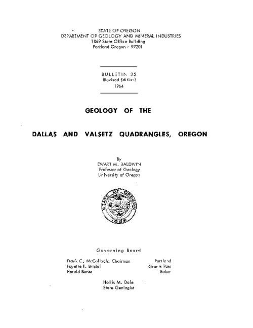 This archived document is maintained by the Oregon State Library as part of the Oregon Documents Depository Program.  It is for informational purposes and may not be suitable for legal purposes., Bibliography: p. 59-61, Mode of access: Internet from the Oregon Government Publications Collection.