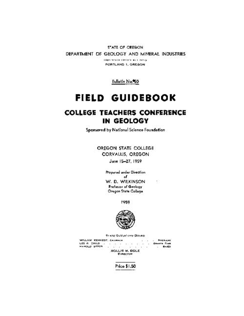 This archived document is maintained by the Oregon State Library as part of the Oregon Documents Depository Program.  It is for informational purposes and may not be suitable for legal purposes., On cover: Geologic trips along Oregon highways., Bibliography: p. 136-148., Mode of access: Internet from the Oregon Government Publications Collection.