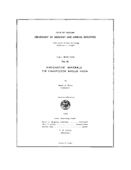 This archived document is maintained by the Oregon State Library as part of the Oregon Documents Depository Program.  It is for informational purposes and may not be suitable for legal purposes., Title from PDF cover (viewed on April 27, 2016)., Includes bibliographical references (page 13)., Mode of access: Internet from the Oregon Government Publications Collection., Text in English.