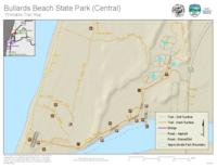 Bullards Beach State Park (central) printable trail map, Printable trail map...