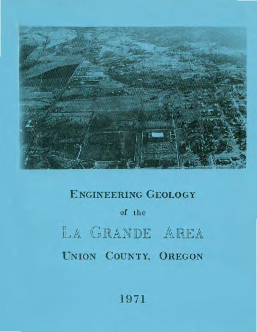 "This archived document is maintained by the Oregon State Library as part of the Oregon Documents Depository Program.  It is for informational purposes and may not be suitable for legal purposes., ""In cooperation with the governing bodies of La Grande and Union County, Oregon."", ""March, 1971."", Text with accompanying map in envelope, Mode of access: Internet from the Oregon Government Publications Collection."