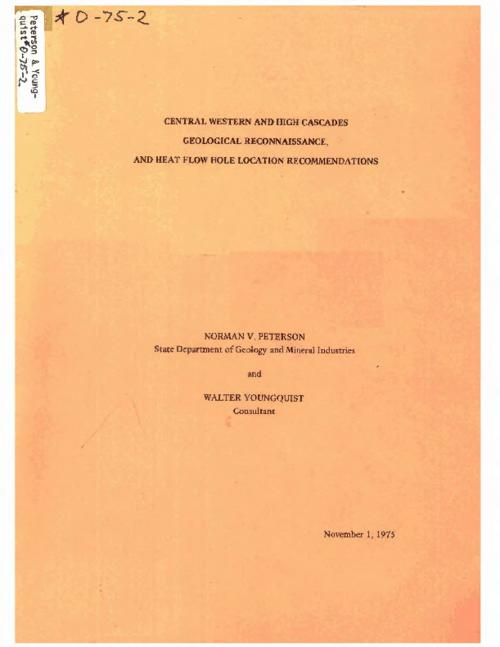 "This archived document is maintained by the Oregon State Library as part of the Oregon Documents Depository Program.  It is for informational purposes and may not be suitable for legal purposes., ""November 1, 1975."", Bibliography: p. 41, Mode of access: Internet from the Oregon Government Publications Collection."