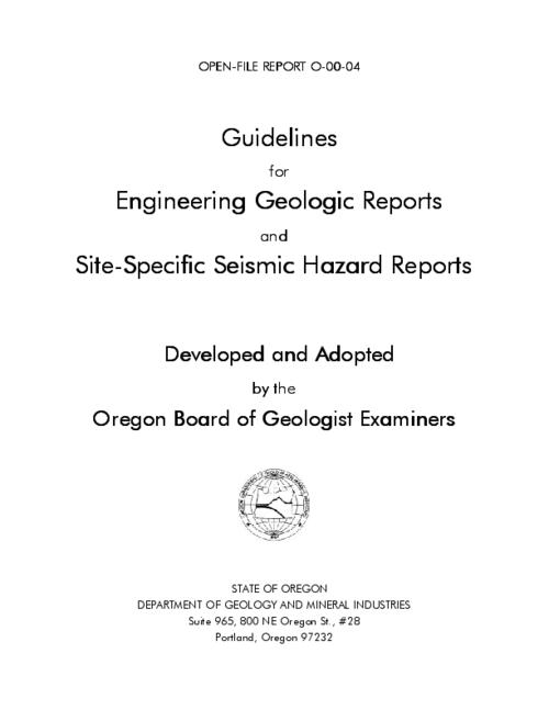 This archived document is maintained by the Oregon State Library as part of the Oregon Documents Depository Program.  It is for informational purposes and may not be suitable for legal purposes., Title from cover, Includes bibliographical references (p. 4), Mode of access: Internet from the Oregon Government Publications Collection.