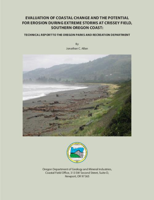 "This archived document is maintained by the Oregon State Library as part of the Oregon Documents Depository Program.  It is for informational purposes and may not be suitable for legal purposes., ""Technical report to the Oregon Parks and Recreation Department."", Includes bibliographical references (p. 47-49), Mode of access: Internet from the Oregon Government Publications Collection."