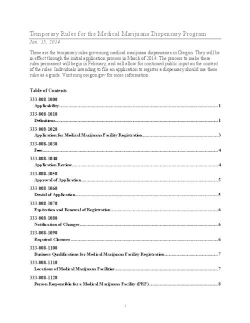This archived document is maintained by the Oregon State Library as part of the Oregon Documents Depository Program.  It is for informational purposes and may not be suitable for legal purposes., Title from PDF caption (viewed on January 21, 2014), Mode of access: Internet from the Oregon Government Publications Collection.