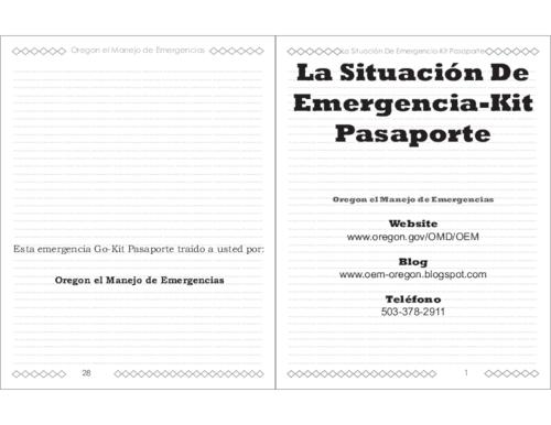 This archived document is maintained by the Oregon State Library as part of the Oregon Documents Depository Program.  It is for informational purposes and may not be suitable for legal purposes., Title from PDF caption (viewed on April 22, 2014), Mode of access: Internet from the Oregon Government Publications Collection., Text in Spanish