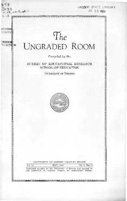 Title from PDF cover (viewed on May 3, 2018)., This archived document is maintained by the State Library of Oregon as part of the Oregon Documents Depository Program. It is for informational purposes and may not be suitable for legal purposes., Includes bibliographical references., Mode of access: Internet from the Oregon Government Publications Collection., Text in English.
