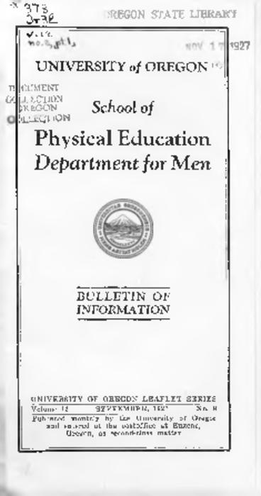 Title from PDF cover (viewed on May 3, 2018)., This archived document is maintained by the State Library of Oregon as part of the Oregon Documents Depository Program. It is for informational purposes and may not be suitable for legal purposes., Mode of access: Internet from the Oregon Government Publications Collection., Text in English.