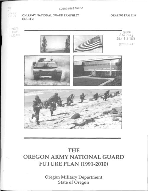 "This archived document is maintained by the Oregon State Library as part of the Oregon Documents Depository Program.  It is for informational purposes and may not be suitable for legal purposes., ""ORARNG pam 11-3."", Title from cover, Mode of access: Internet from the Oregon Government Publications Collection."