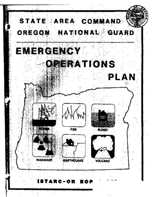 "This archived document is maintained by the Oregon State Library as part of the Oregon Documents Depository Program.  It is for informational purposes and may not be suitable for legal purposes., ""1 August 1985""--Cover memo, Mode of access: Internet from the Oregon Government Publications Collection."