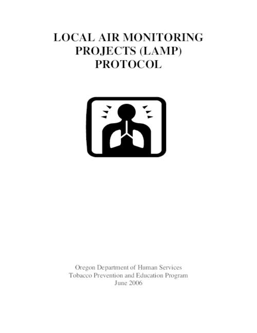 "This archived document is maintained by the Oregon State Library as part of the Oregon Documents Depository Program.  It is for informational purposes and may not be suitable for legal purposes., Title from PDF cover (viewed on Aug. 3, 2006), ""June 2006."", Mode of access: Internet from the Oregon Government Publications Collection."