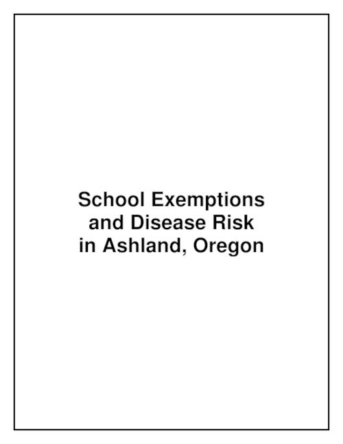 "This archived document is maintained by the Oregon State Library as part of the Oregon Documents Depository Program.  It is for informational purposes and may not be suitable for legal purposes., Title from PDF title page (viewed on Oct. 26, 2006), ""Fall 2002""--P. 1, Includes bibliographical references (p. 16), Mode of access: Internet from the Oregon Government Publications Collection."