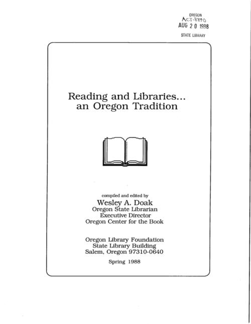 "This archived document is maintained by the Oregon State Library as part of the Oregon Documents Depository Program.  It is for informational purposes and may not be suitable for legal purposes., ""Spring 1988."", ""A compilation of the thoughts and reflections of over 1,000 Oregonians""--Cover, Includes index, Mode of access: Internet from the Oregon Government Publications Collection."