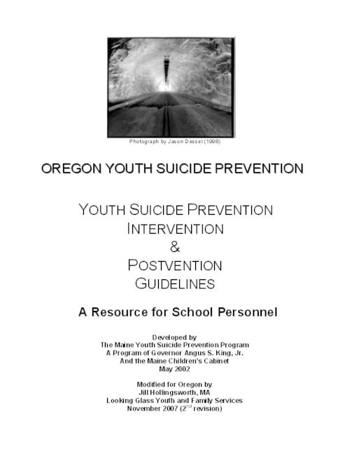 "This archived document is maintained by the Oregon State Library as part of the Oregon Documents Depository Program.  It is for informational purposes and may not be suitable for legal purposes., Title from PDF title page (viewed on Apr. 7, 2010), ""May 2002."", ""November 2007 (2nd revision)."", Includes bibliographical references, Mode of access: Internet from the Oregon Government Publications Collection."