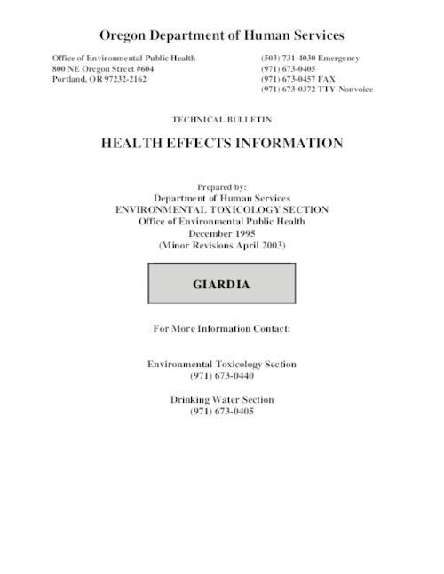 "This archived document is maintained by the Oregon State Library as part of the Oregon Documents Depository Program.  It is for informational purposes and may not be suitable for legal purposes., Title from PDF title page (viewed on June 2, 2009), ""December 1995."", ""(Minor revisions April 2003)."", Mode of access: Internet from the Oregon Government Publications Collection."