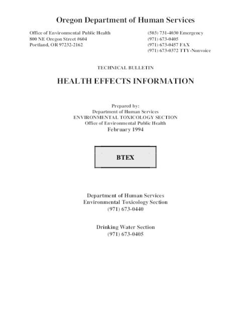"This archived document is maintained by the Oregon State Library as part of the Oregon Documents Depository Program.  It is for informational purposes and may not be suitable for legal purposes., Title from PDF title page (viewed on June 2, 2009), ""February 1994."", Mode of access: Internet from the Oregon Government Publications Collection."
