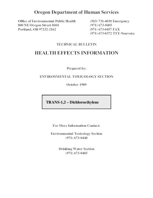 "This archived document is maintained by the Oregon State Library as part of the Oregon Documents Depository Program.  It is for informational purposes and may not be suitable for legal purposes., Title from PDF title page (viewed on Nov. 12, 2010), ""October 1989."", Mode of access: Internet from the Oregon Government Publications Collection."