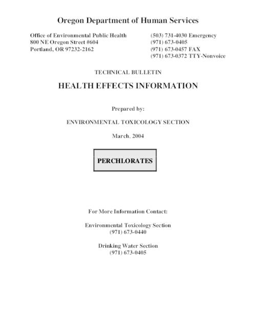 "This archived document is maintained by the Oregon State Library as part of the Oregon Documents Depository Program.  It is for informational purposes and may not be suitable for legal purposes., Title from PDF title page (viewed on June 3, 2009), ""March, 2004 ."", Mode of access: Internet from the Oregon Government Publications Collection."