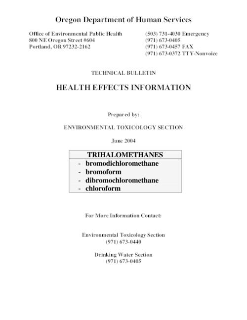 "This archived document is maintained by the Oregon State Library as part of the Oregon Documents Depository Program.  It is for informational purposes and may not be suitable for legal purposes., Title from PDF title page (viewed on June 3, 2009), ""June 2004."", Mode of access: Internet from the Oregon Government Publications Collection."