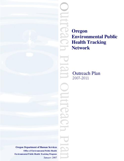 "This archived document is maintained by the Oregon State Library as part of the Oregon Documents Depository Program.  It is for informational purposes and may not be suitable for legal purposes., Title from PDF title page (viewed on Nov. 23, 2010), ""January 2007."", Mode of access: Internet from the Oregon Government Publications Collection."