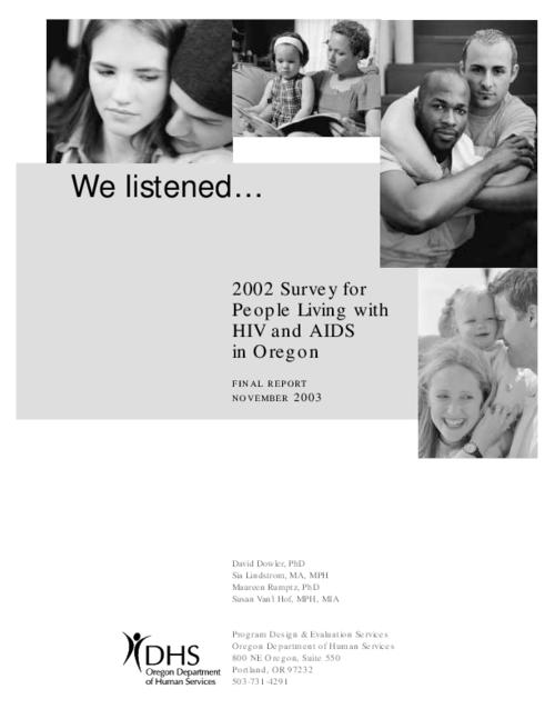 "This archived document is maintained by the Oregon State Library as part of the Oregon Documents Depository Program.  It is for informational purposes and may not be suitable for legal purposes., Title from PDF title page (viewed on Mar. 3, 2009), ""November 2003."", Mode of access: Internet from the Oregon Government Publications Collection."