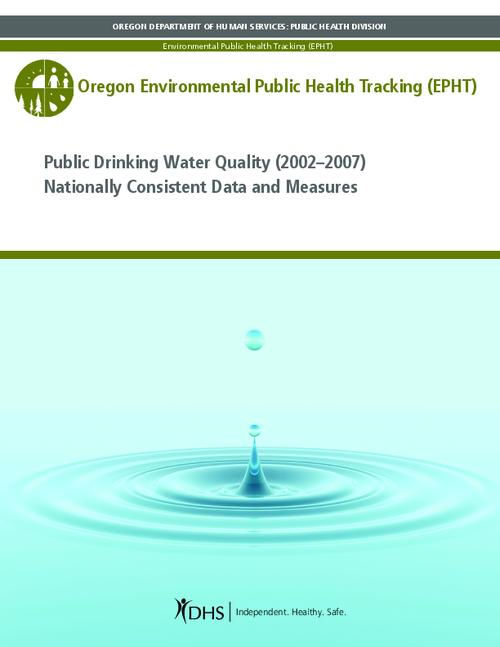 This archived document is maintained by the Oregon State Library as part of the Oregon Documents Depository Program.  It is for informational purposes and may not be suitable for legal purposes., Title from PDF cover (viewed on Aug. 31, 2012), Measure of arsenic, disinfection byproducts, and nitrate in the public drinking water, Includes bibliographical references (p. 22), Mode of access: Internet from the Oregon Government Publications Collection.
