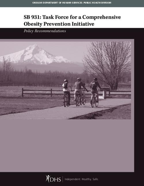 This archived document is maintained by the Oregon State Library as part of the Oregon Documents Depository Program.  It is for informational purposes and may not be suitable for legal purposes., Title from PDF caption (viewed on Oct. 5, 2011), Includes bibliographical references (p. 17), Mode of access: Internet from the Oregon Government Publications Collection.