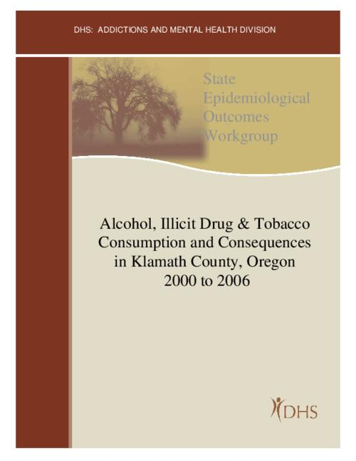 "This archived document is maintained by the Oregon State Library as part of the Oregon Documents Depository Program.  It is for informational purposes and may not be suitable for legal purposes., Title from PDF cover (viewed on Oct. 24, 2013), ""January 2008""--Running footer, Includes bibliographical references (p. 51), Mode of access: Internet from the Oregon Government Publications Collection."