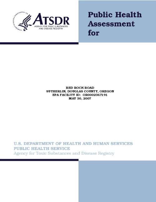 "This archived document is maintained by the Oregon State Library as part of the Oregon Documents Depository Program.  It is for informational purposes and may not be suitable for legal purposes., Title from PDF title page (viewed on January 10, 2013), ""May 30, 2007""--Cover, ""Final release."", ""EPA facility ID: OR0002367191."", Includes bibliographical references (pages 18-19), Mode of access: Internet from the Oregon Government Publications Collection."