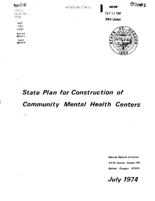 "This archived document is maintained by the Oregon State Library as part of the Oregon Documents Depository Program.  It is for informational purposes and may not be suitable for legal purposes., ""Public law 88-164, Title II."", Mode of access: Internet from the Oregon Government Publications Collection."