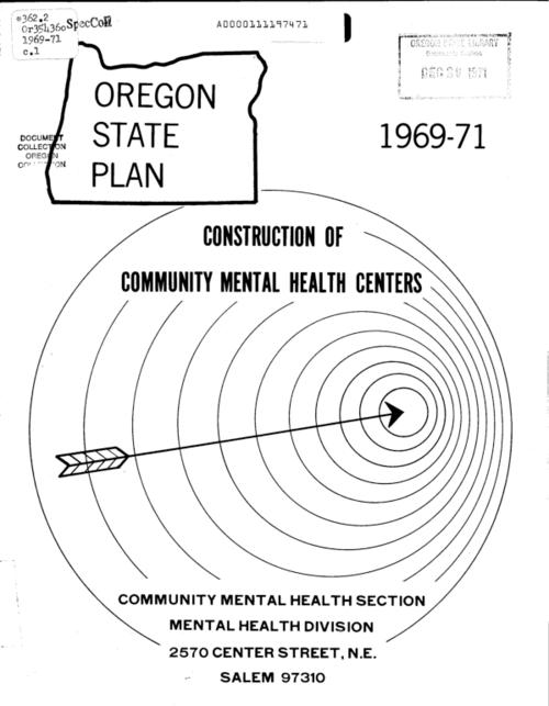 "This archived document is maintained by the Oregon State Library as part of the Oregon Documents Depository Program.  It is for informational purposes and may not be suitable for legal purposes., ""1969-71""--Cover, Contains policies, regulations, guidelines and frame of reference for the administration by the State of Oregon of Title II, Public law 88-164, the Community Mental Health Centers Construction Act of 1963, Mode of access: Internet from the Oregon Government Publications Collection."